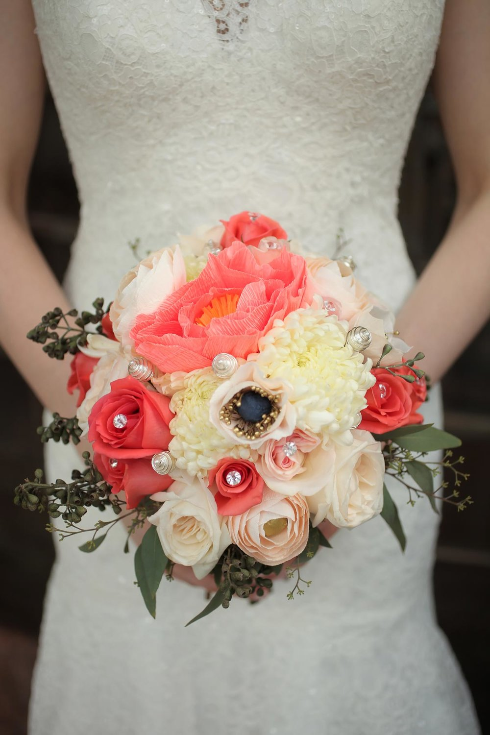 colorful-bridal-bouquet-ideas-real-wedding-lace-dress-angela-howard.jpg