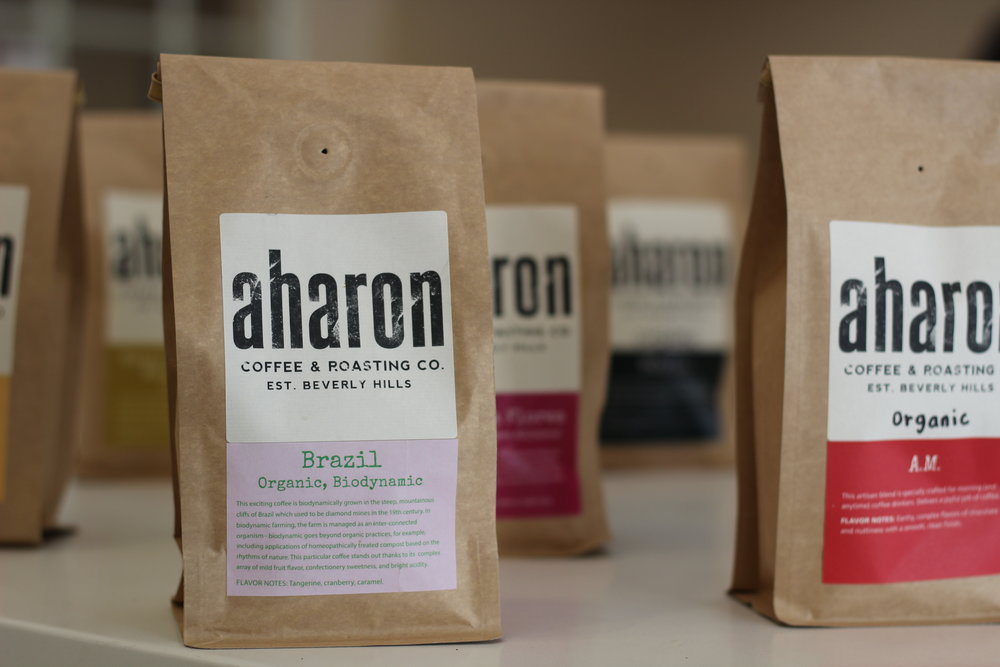Choose roast of the week or espresso, whole bean or ground the way you need it.