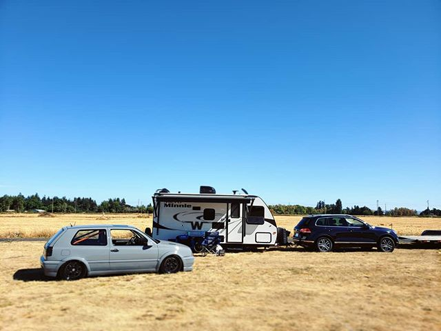 #pwl2018 was such a blast camping and showing. Next year I wanna drive it 😎 Just need to get this thing tuned properly. 034EFI is coming out when I get home and I'm switching to #ms3pro Next week.