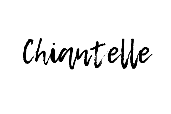 Chiantelle Nicole Blog Signature