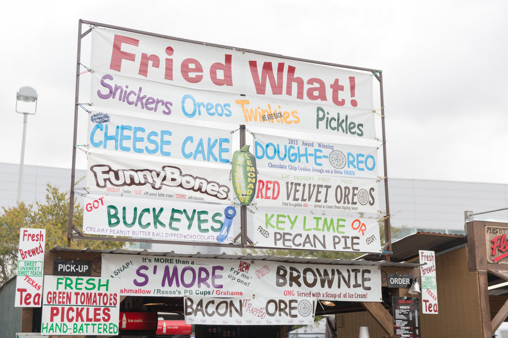 Fried Foods Galore - Houston Rodeo