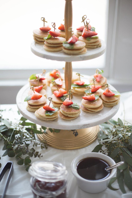 Mini Pancake Tower