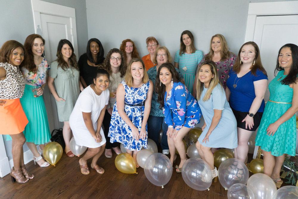 Wonderful group of ladies