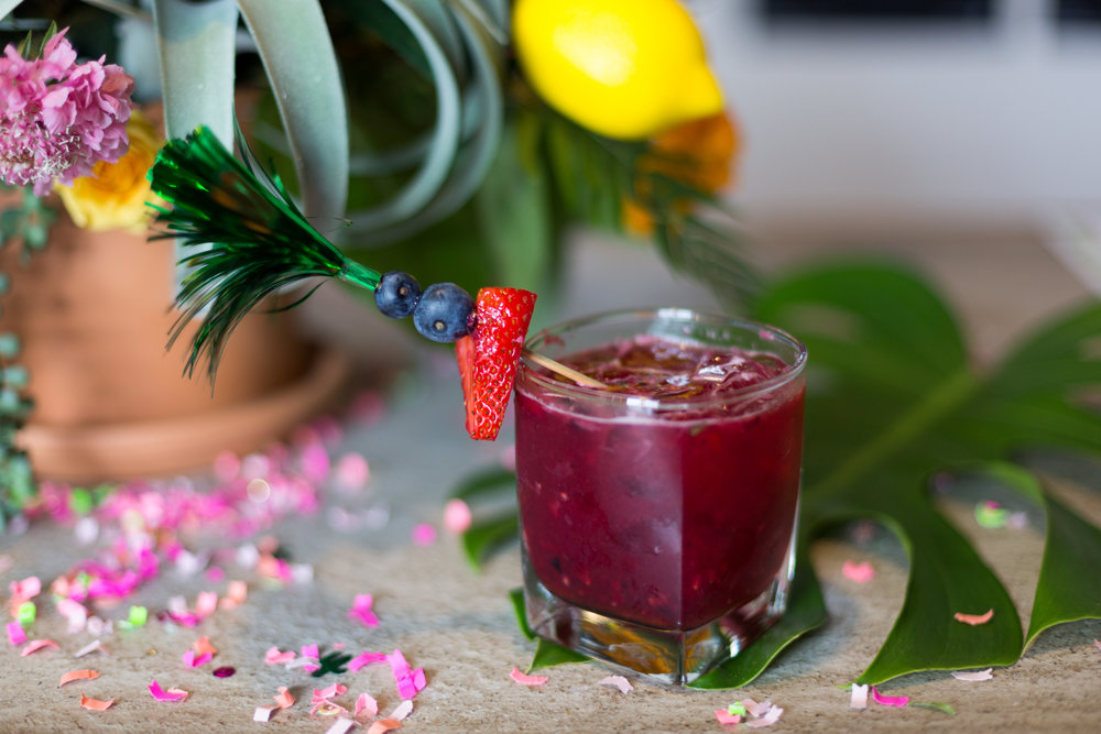 Mixology by Elle Talk - Berry Smashed