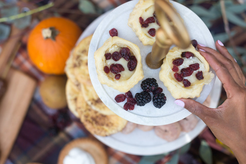 Brie Puff Pastry Preserve