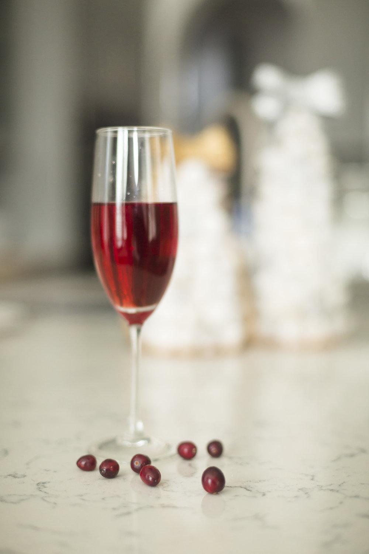 The Poinsettia Christmas Drink