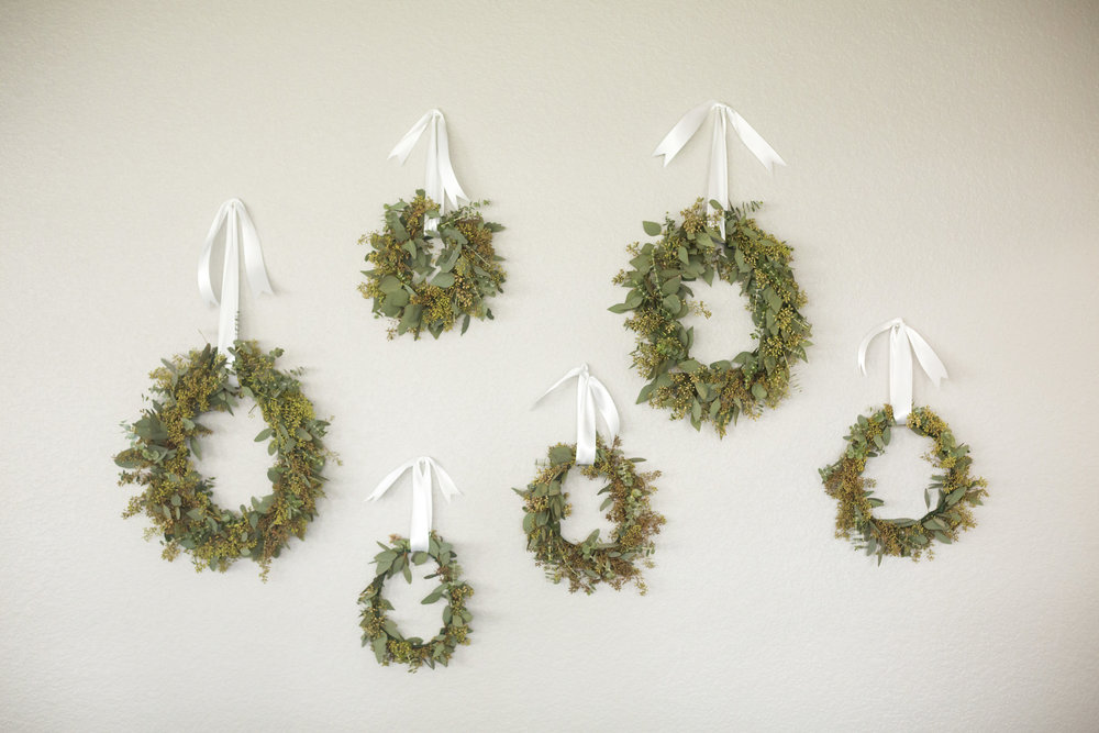 Christmas Wreaths by Casa de Flores Design