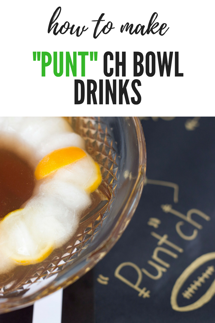 """Punt""ch Bowl Drinks"
