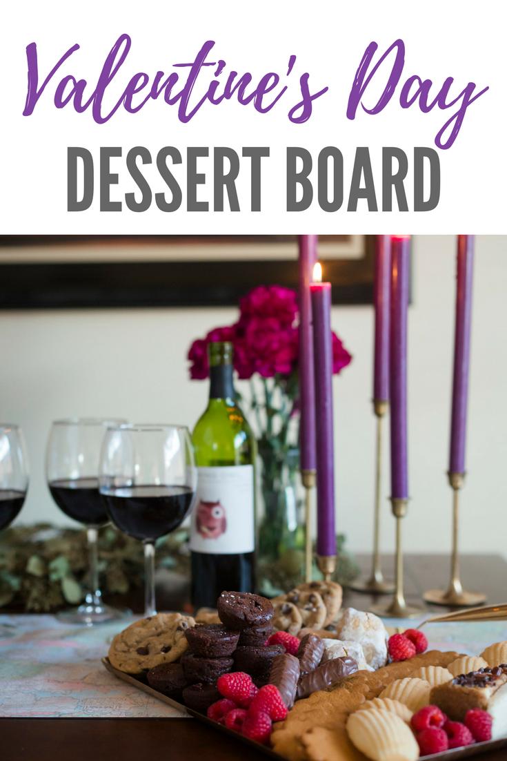 Valentine's Day Dessert Board