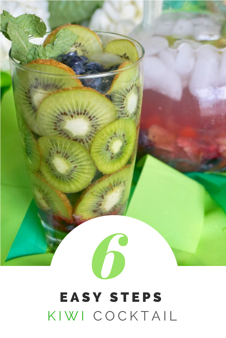 Kiwi Summer Cocktail Recipe