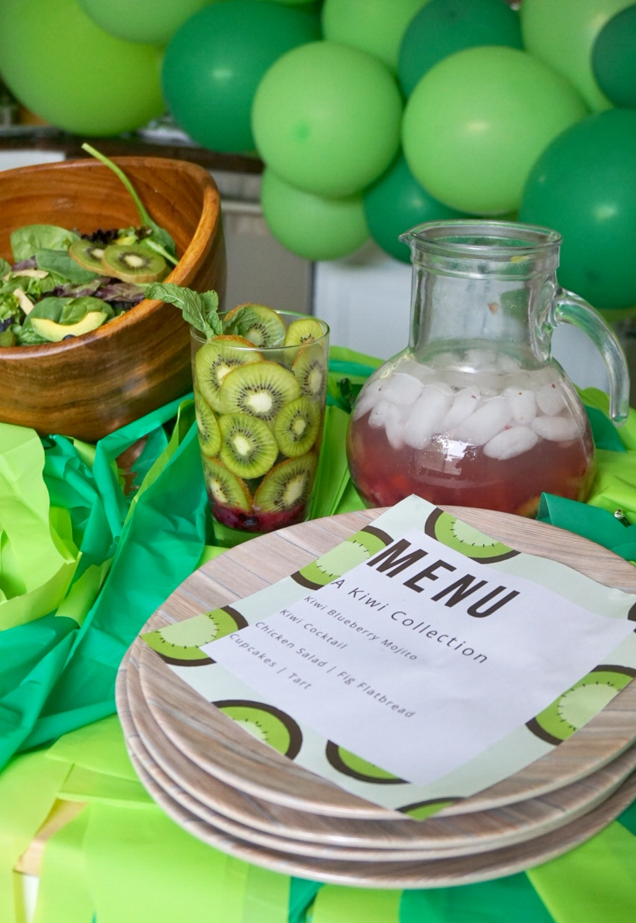 Green Kiwi Summer Party