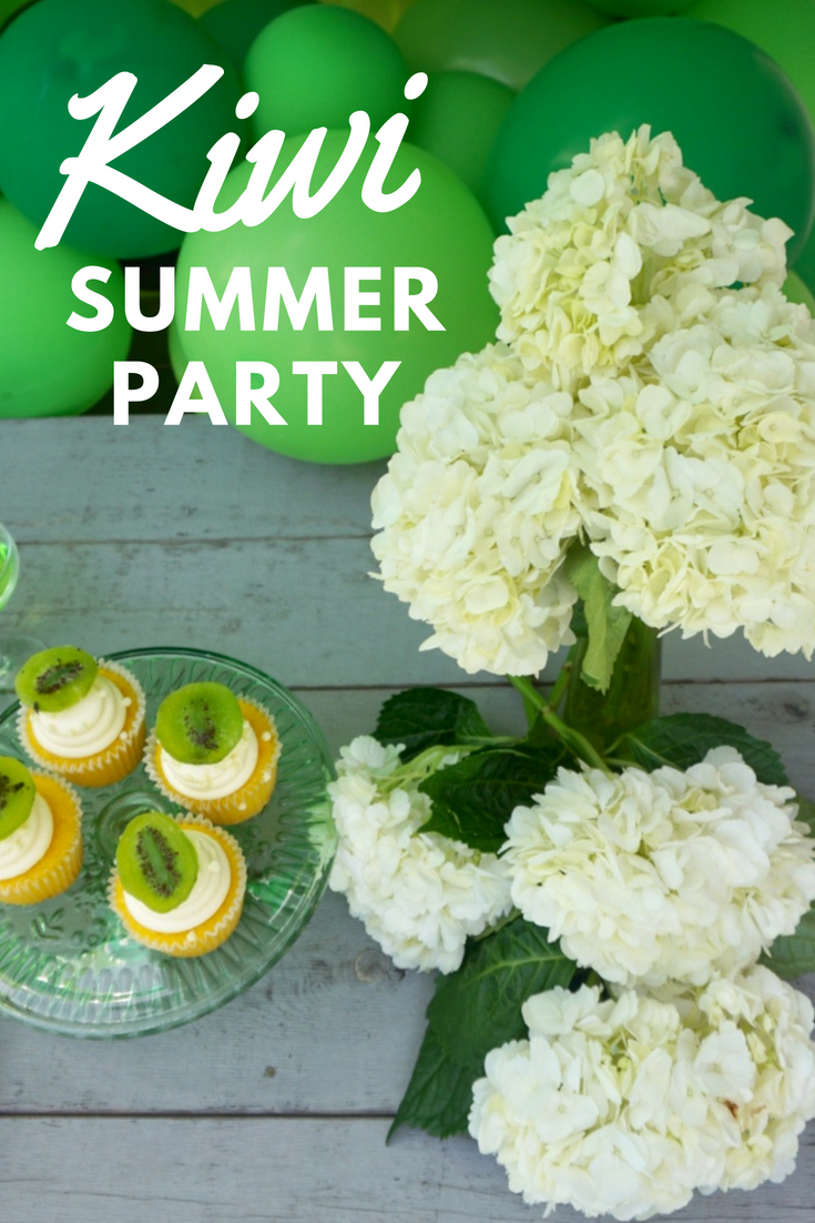 Green Kiwi Summer Party