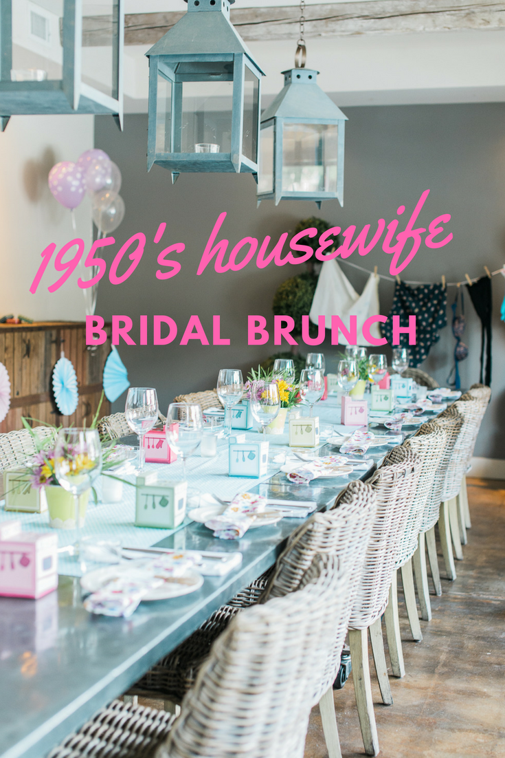 1950s Bridal Shower Brunch