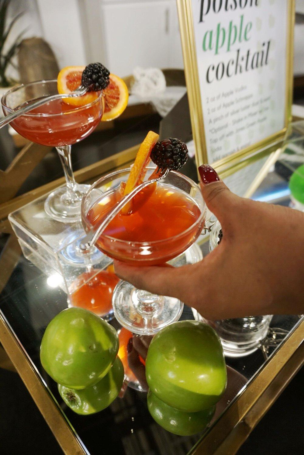 Blood Orange Rum Punch Cocktail