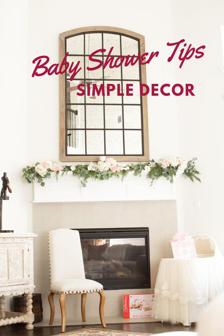 Simple Elegant Baby Shower