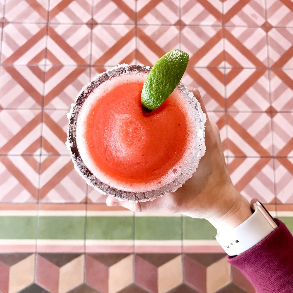 Strawberry Margarita  - Toast from the Host