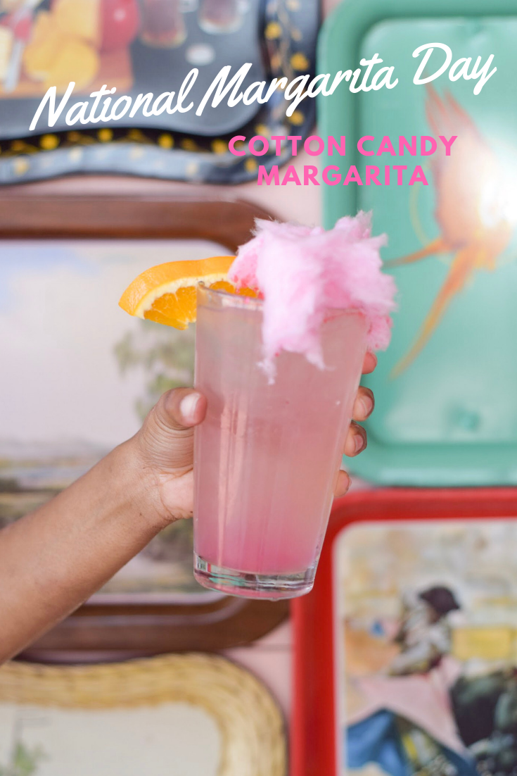 Easy & Fruity Margarita Recipes - Toast from the Host - Cotton Candy Margarita