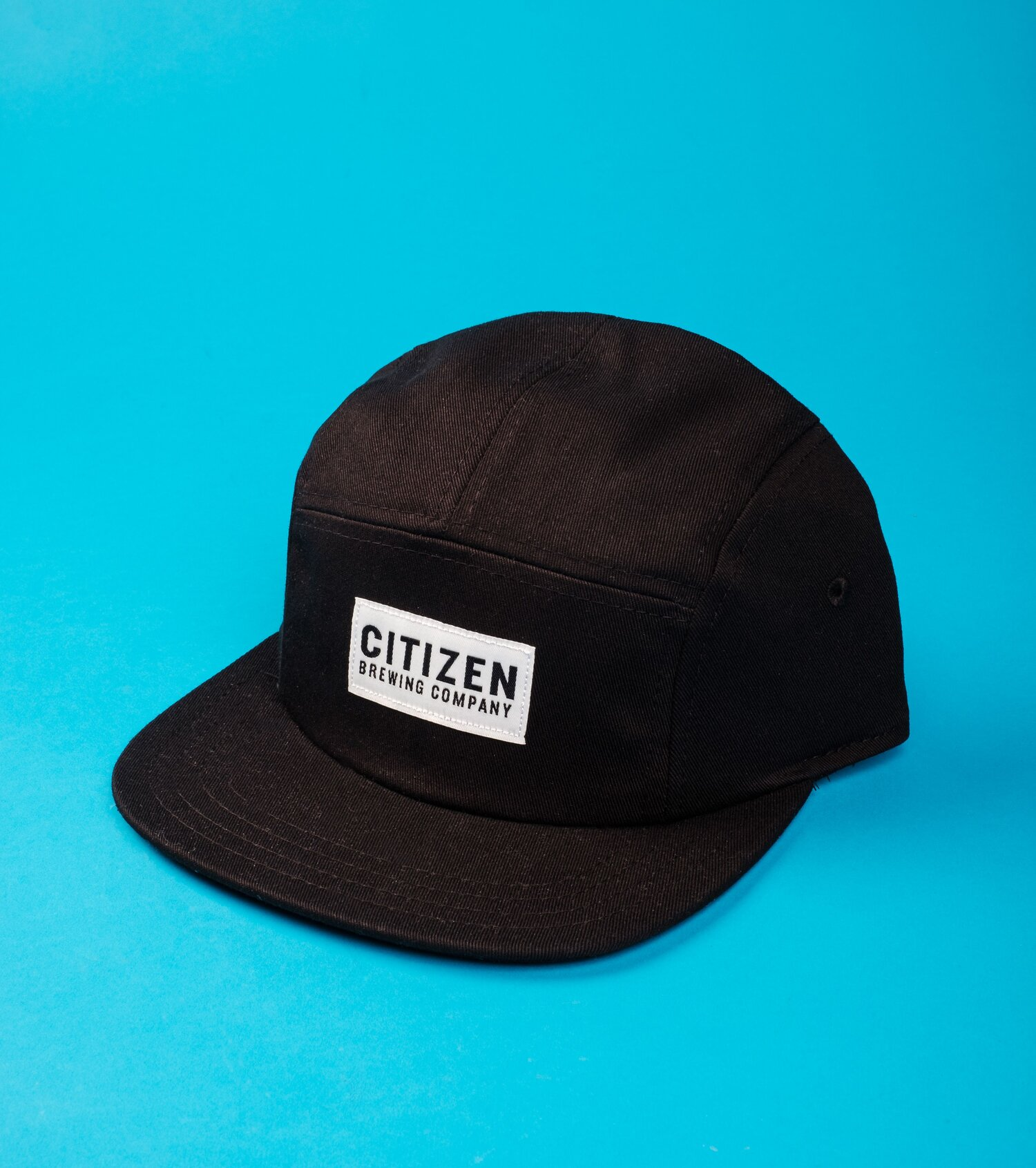 5-panel hat with logo patch   Citizen Brewing Company   Northeast Calgary Brewery