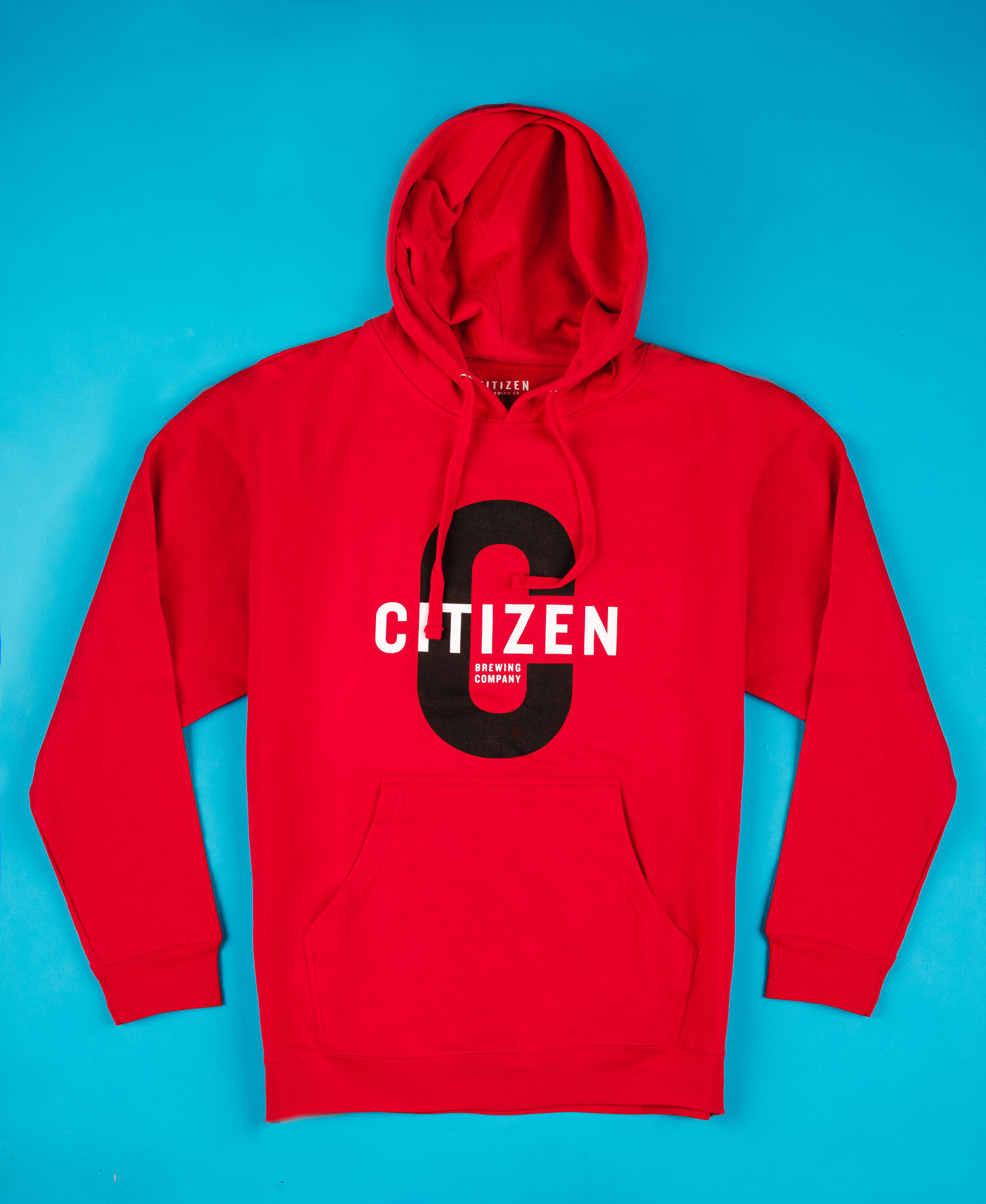 Red Logo Pull Over   Citizen Brewing Company   Northeast Calgary Brewery