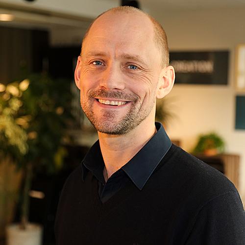 Harry McNeil, styrelseordförande Stiftelsen Ekskäret