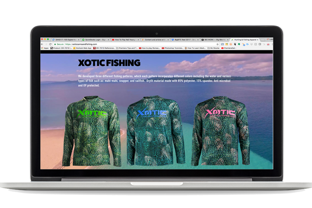 Xotic Camo & Fishing