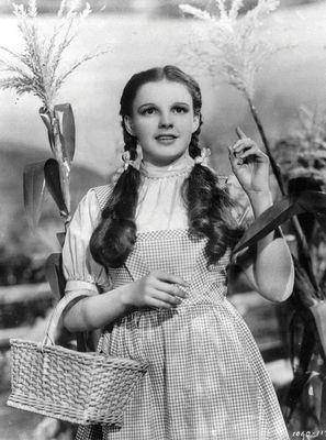 Judy Garland in Wizard of Oz