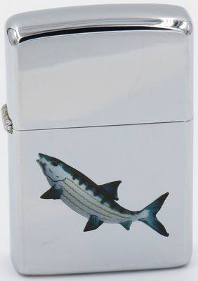 1966  Town & Country Zippo with a  Mackerel