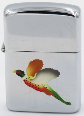 1948-50 Zippo with the Pheasant , one of the first of eight  Town & Country production models