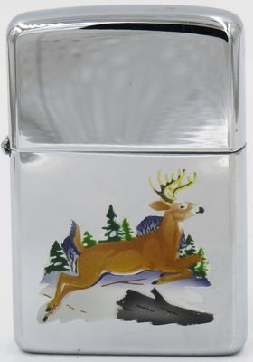 1960 Town & Country Zippo with a leaping deer