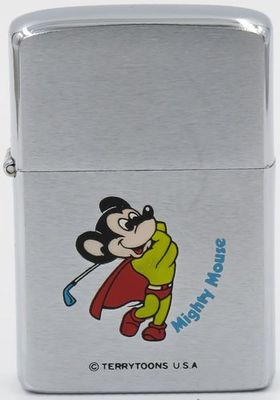 1982 Zippo Mighty Mouse golfer