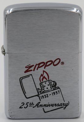 1957 25th Anniversary Zippo .JPG