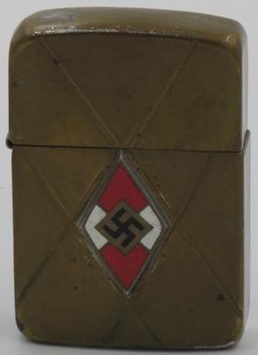 1942-45 Zippo with inlaid Swastika