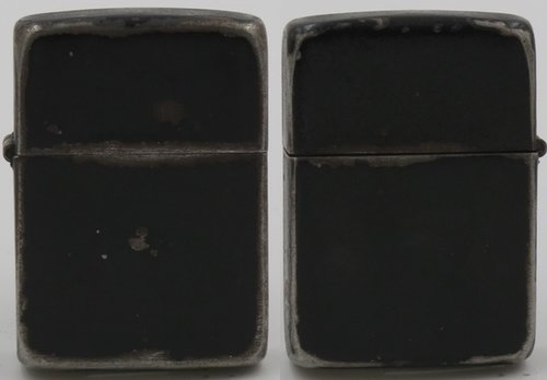 this is a typical 1942 45 world war ii black crackle zippo