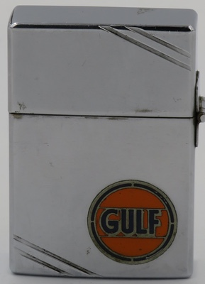 1934 Metallique Zippo for Gulf Oil