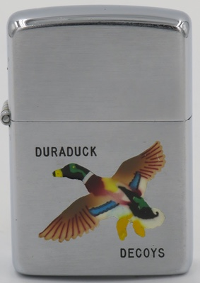 1951 T&C Zippo  with Mallard for Duraduck Decoys