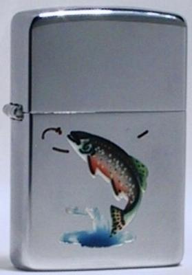 1949-50  Zippo with the Trout