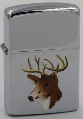 1953 T&C Zippo with a deer buck head with antlers