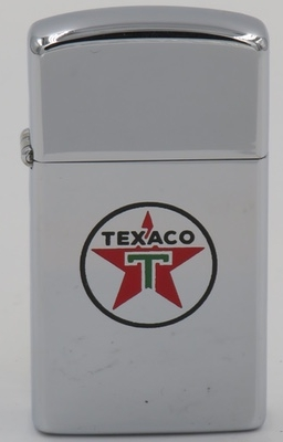 1960 slim Zippo with the Texaco star