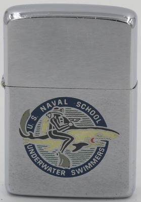1967 Zippo for the US Naval School for Underwater Swimmers in Key West, Florida