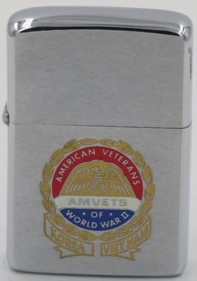 1972 Zippo for AMVETS, American Veterans of World War II