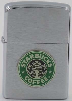 1993 Zippo with a Starbucks attached badge.