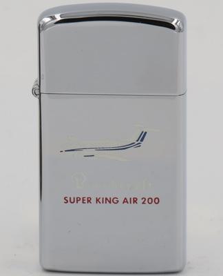 Beechcraft Super King Air 200 on a 1978 Zippo