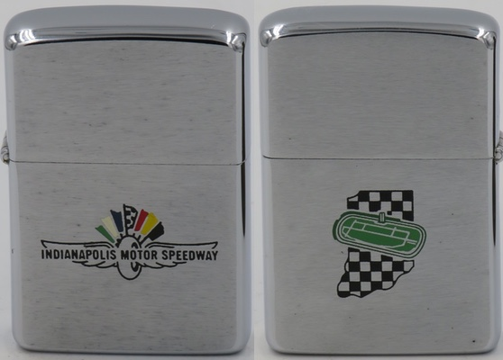 1958 Zippo for the Indianapolis Motor Freeway