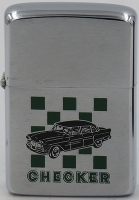 1968  Zippo advertising Checker Cabs