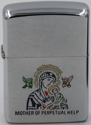 1966 Mother of Perpetual Help - Graphic of Virgin with Child
