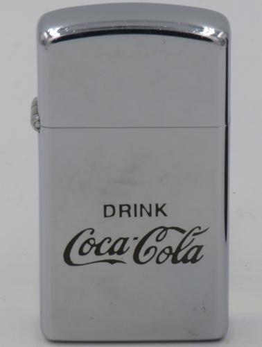 Drink Coca Cola on 1974 slim Zippo.