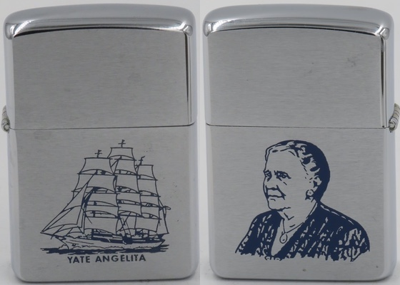 "1958 Zippo Rafael Trujillo's mother Altagracia Julia Molina Chevalier, also known as ""Mamá Julia"""