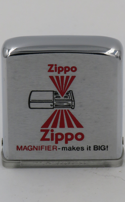 Magnifier Zippo makes it big