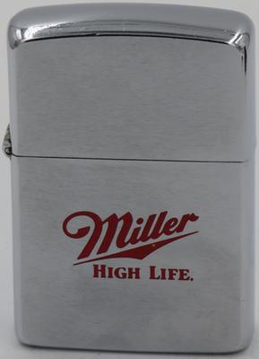 1989 Zippo for Miller High Life