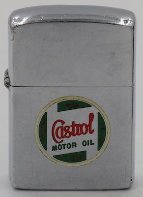 1954-55 Zippo for Castrol Motor Oil